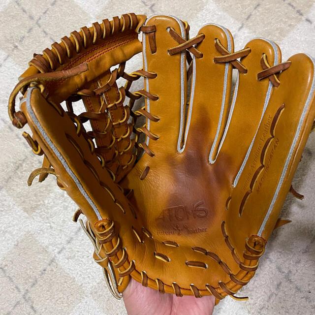 硬式グローブ 外野用 最終値引き スポーツ/アウトドアの野球(グローブ)の商品写真
