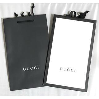 グッチ(Gucci)のGUCCI グッチ 38cmショッパー 紙袋2枚セット(ショップ袋)