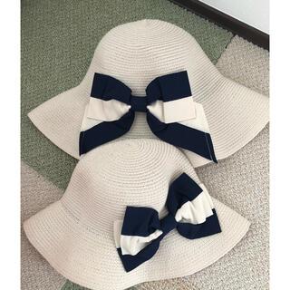 エニィファム(anyFAM)の親子夏帽子(帽子)