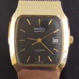 ラドー(RADO)のRADO ラドー DIASTAR ダイヤスター中古・稼働品(腕時計(アナログ))