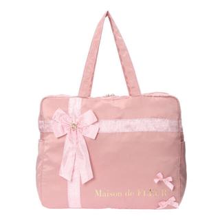 Maison de FLEUR - メゾンドフルール○青木美沙子さん○プレゼントリボンボストンバッグ○ピンク