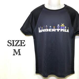 超美品 UNDERTALE Tシャツ ロゴプリント アンダーテール