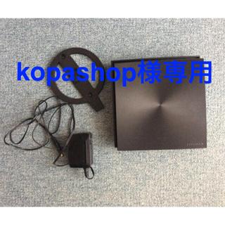 アイオーデータ(IODATA)の1733Mbps対応 Wi-Fiルーター WN-DX2033GR/E(PC周辺機器)