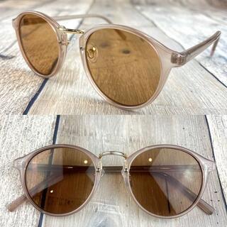 インスタ人気商品❗ブラウン ボストン ウェリントン サングラス 眼鏡