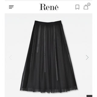 René - ルネ チュールスカート