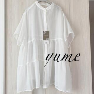 しまむら - 新品 しまむら てらさん コラボ ティアードシャツ ブラウス