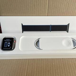 アップル(Apple)のApple Watch series3 GPS+Cellularモデル(腕時計(デジタル))