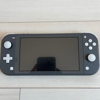 Nintendo Switch - Nintendo Switch Lite  グレー スイッチ ライト 本体のみ