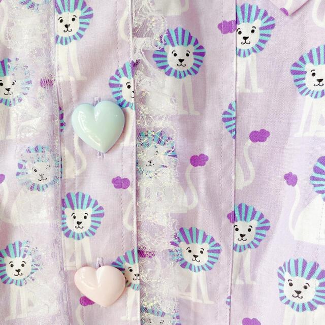 Angelic Pretty(アンジェリックプリティー)の新品未使用タグ付き♡ナイルパーチ らいおんさん柄 ジャケット レディースのジャケット/アウター(テーラードジャケット)の商品写真