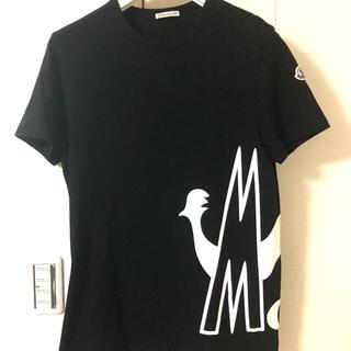 MONCLER - モンクレール ロゴ入りTシャツ ブラック サイズS