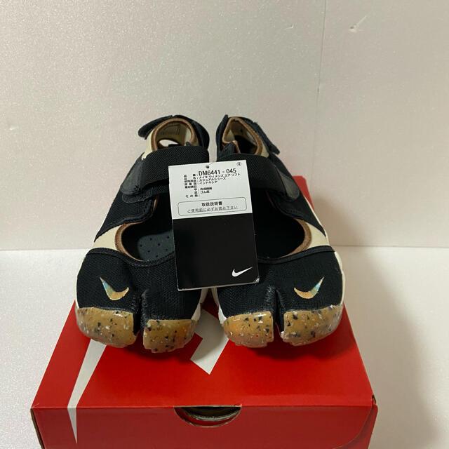 NIKE(ナイキ)の【新品】NIKE AIRRIFT ナイキ エアリフト ベージュブラック 24cm レディースの靴/シューズ(スニーカー)の商品写真