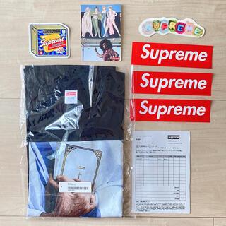 シュプリーム(Supreme)のシュプリーム バイブル ティシャツ 白黒青 M オンライン ブラック(Tシャツ/カットソー(半袖/袖なし))