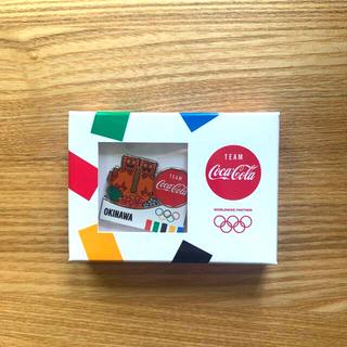 コカ・コーラ - コカコーラ オリンピック 五輪 ピン ピンズ 沖縄 限定 バッチ バッヂ バッジ