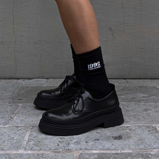 ACLENT Embroidery logo socks(ソックス)