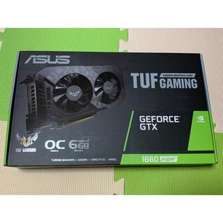 エイスース(ASUS)の新品未開封 ASUS GeForce GTX1660 super(PCパーツ)
