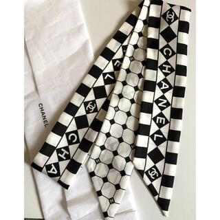 シャネル(CHANEL)の新品 新作 2021AW CHANEL ツイリー スカーフ(バンダナ/スカーフ)