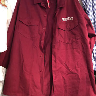シュプリーム(Supreme)の未使用SUPREME  shirts(シャツ)