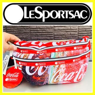 レスポートサック(LeSportsac)の新品タグ付き■限定コラボ品■LesportSAC×コカコーラ バッグ 希少品(ショルダーバッグ)