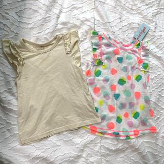 プティマイン(petit main)のプティマイン Cat and Jack フリル トップス 100cm(Tシャツ/カットソー)
