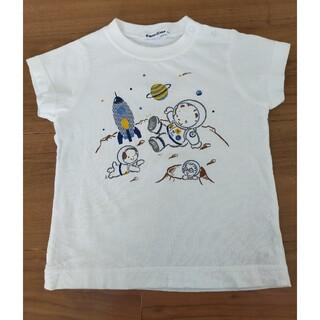 ファミリア(familiar)のファミリア Tシャツ 宇宙 90(Tシャツ/カットソー)