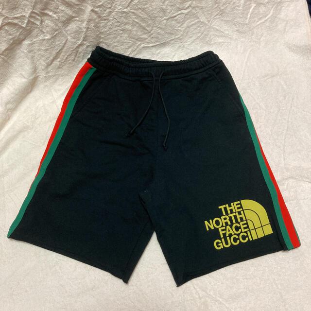 Gucci(グッチ)のグッチ✖️ノースフェイス ショートパンツ メンズのパンツ(ショートパンツ)の商品写真