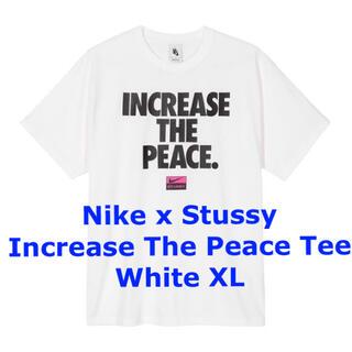 STUSSY -  Nike Stussy Increase The Peace Tee XL