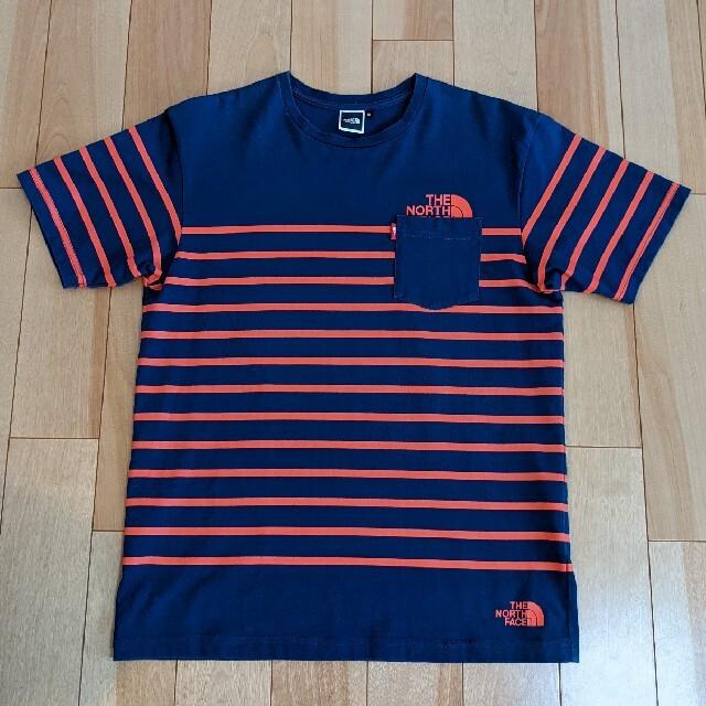 THE NORTH FACE(ザノースフェイス)のTHE NORTH FACE ボーダーTシャツ メンズのトップス(Tシャツ/カットソー(半袖/袖なし))の商品写真