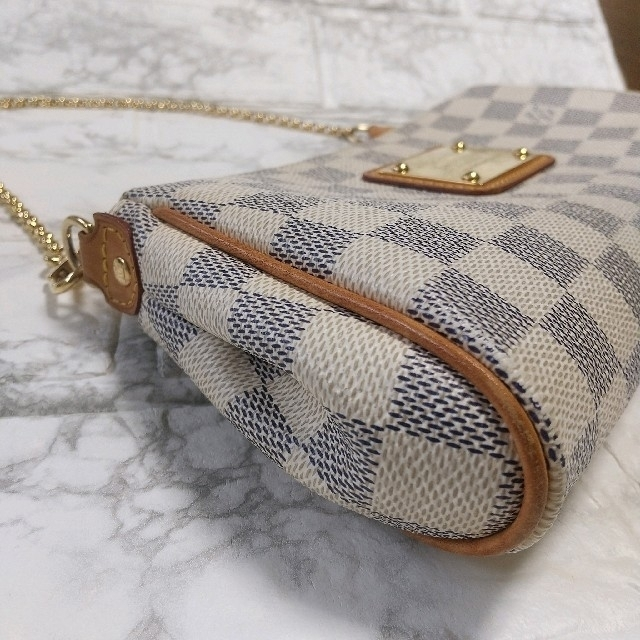 LOUIS VUITTON(ルイヴィトン)のルイ・ヴィトン ダミエ アズール エヴァ ショルダーバッグ レディースのバッグ(ショルダーバッグ)の商品写真