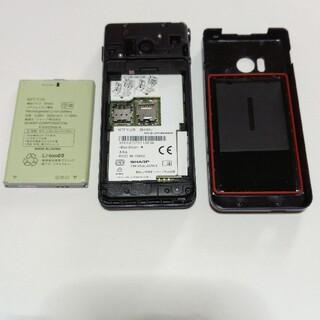 SHARP - 中古 携帯電話 ドコモ AQUOSケータイ SH-01J SIMロック解除済