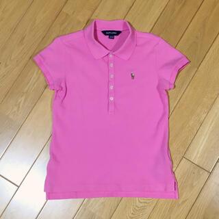 ラルフローレン(Ralph Lauren)の【140】ラルフローレン 半袖ポロシャツ ピンク(Tシャツ/カットソー)