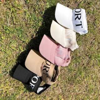 サンバイザー 帽子 メッシュ 夏 海 ホワイト 各5色(キャップ)