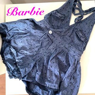 バービー(Barbie)のBarbie デニム キュロット ホルターネック(パンツ/スパッツ)