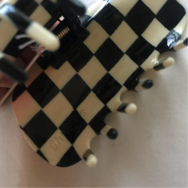 EDIT.FOR LULU(エディットフォールル)のChunks ヘアクリップ チェッカー レディースのヘアアクセサリー(バレッタ/ヘアクリップ)の商品写真