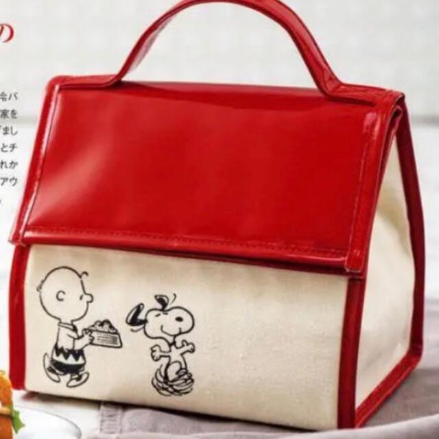 PEANUTS(ピーナッツ)のスヌーピー SNOOPY 保冷バッグ インテリア/住まい/日用品のキッチン/食器(弁当用品)の商品写真