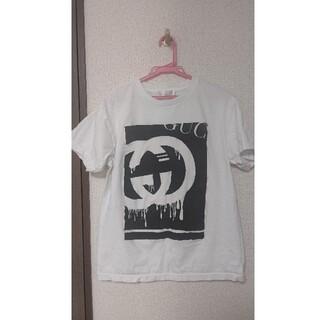 グッチ(Gucci)のGUCCI グッチ パロディ Tシャツ ロゴ入り カットソー(Tシャツ/カットソー(半袖/袖なし))