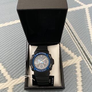 カシオ(CASIO)の新品未使用 G-SHOCK ブラック ブルー(腕時計(デジタル))