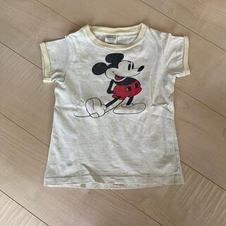 デニムダンガリー(DENIM DUNGAREE)のデニムダンガリー ミッキーTシャツ(Tシャツ/カットソー)