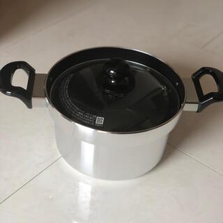 リンナイ(Rinnai)のリンナイ フッ素コート付アルミ厚底鍋 RTR-300D1(鍋/フライパン)