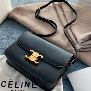 celine - CELINE セリーヌ ショルダーバッグ ブラック
