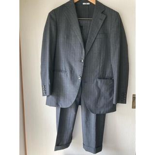 セレクト(SELECT)のスーツセレクト グレー ストライプ(セットアップ)