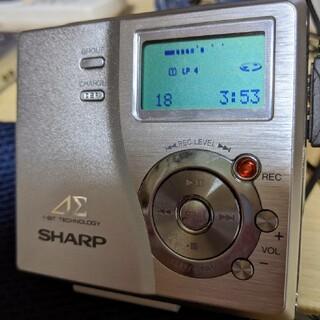 シュープ(SHOOP)のシャープ DR-77 シルバー(ポータブルプレーヤー)