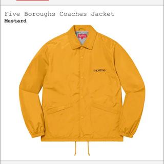 Supreme - 【完全未開封】Five Boroughs Coaches Jacket【M】