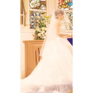 タカミ(TAKAMI)の【こっぺぱん様専用】タカミブライダル ラメ入りショートベール(ヘッドドレス/ドレス)