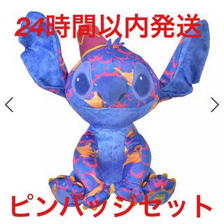 Disney - スティッチ アラジン ぬいぐるみ ピンバッチ セット 6月限定