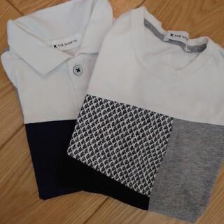 タケオキクチ(TAKEO KIKUCHI)のTAKEO KIKUCHI 半袖シャツ+ポロシャツ 120 (Tシャツ/カットソー)