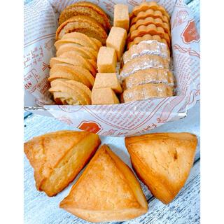エシレバターのクッキーアソートとエシレ生クリームスコーン