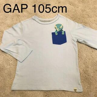 ベビーギャップ(babyGAP)のGAPギャップ ロンT キョウリュウ恐竜⋆͛⋆͛ 105センチ(Tシャツ/カットソー)