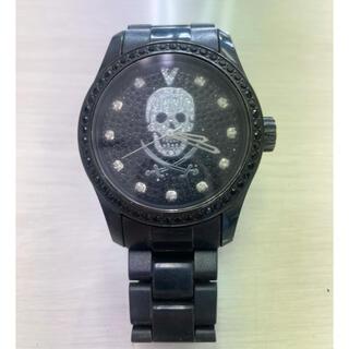 ヴァベーネ(VABENE)のヴァベーネ 腕時計 メンズ ラインストーン スカル ユニセックス おしゃれ(腕時計(アナログ))
