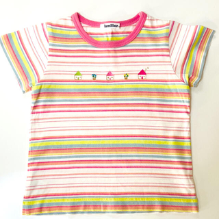 familiar - familiar Tシャツ 日本製 100センチ