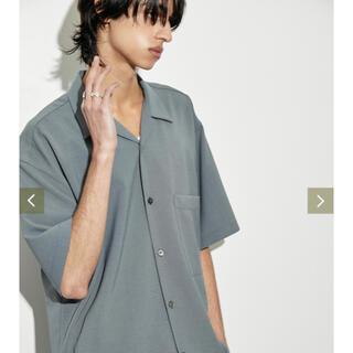 STUDIOUS - PUBLIC TOKYO パブリックトーキョー オープンカラーシャツ シャツ